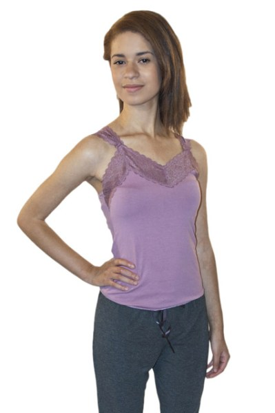 Women's All Natural Lace Camisoles and Eco-Friendly Clothing