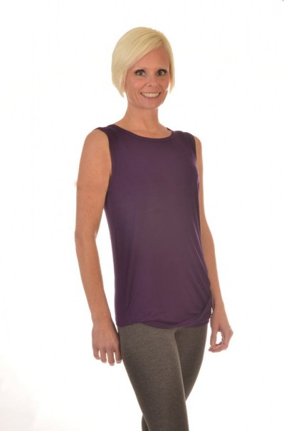 Women's Bamboo All Natural Ann Sleeveless Tops