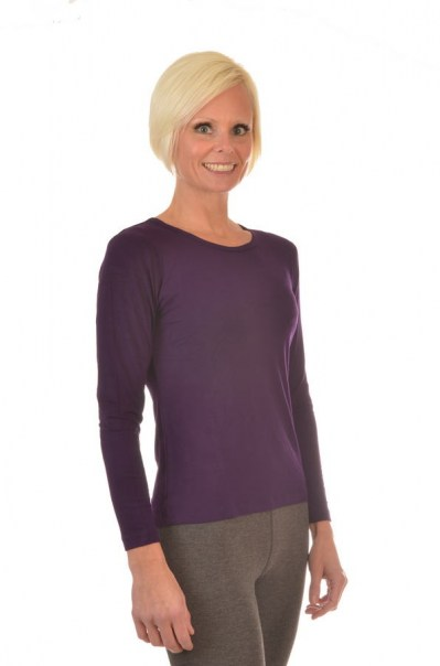 Women's All Natural Long Sleeve Shirts and Eco-Friendly Clothing