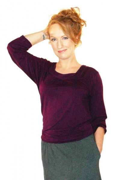 Women's All Natural Loose Fitting Tops and Eco-Friendly Clothing