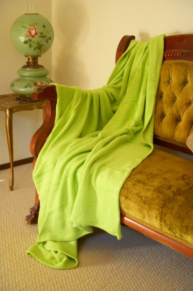 Queen Fleece Blanket All Natural Eco-Friendly Fabric