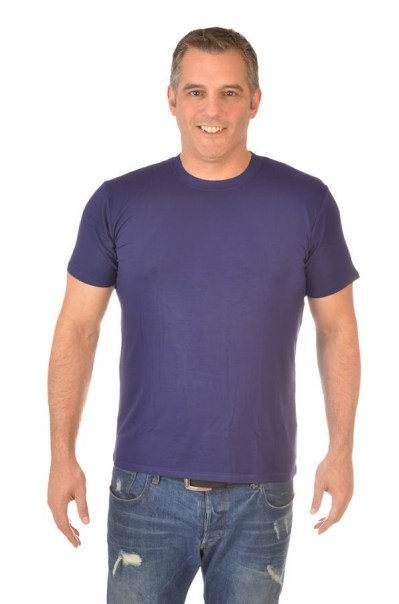 Men's Bamboo Classic TShirt - Royal Purple