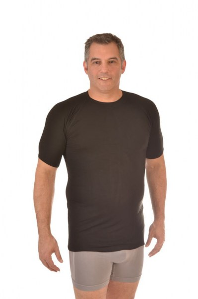Men's Bamboo Undershirt - Black