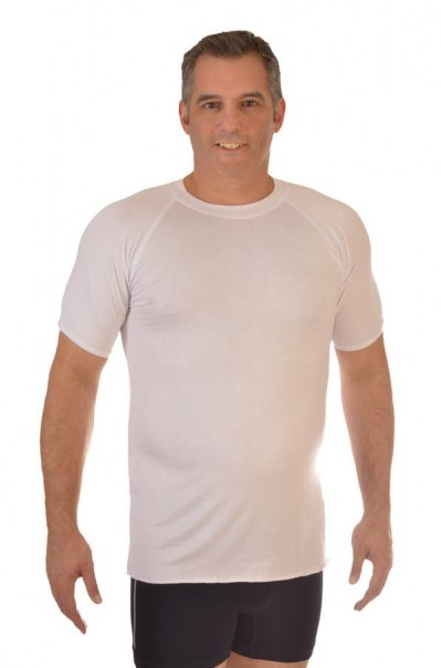 Men's Bamboo Undershirt - White