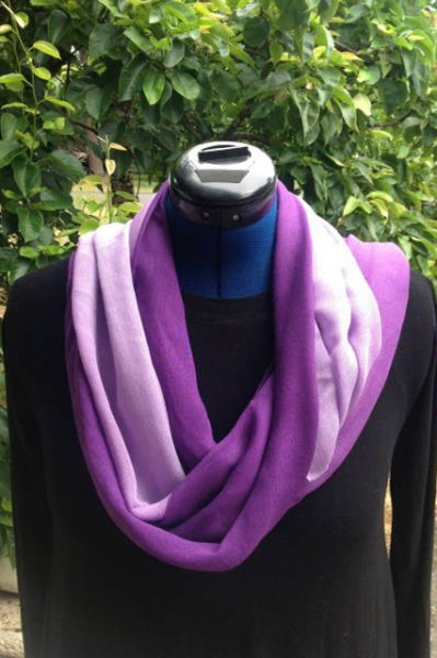 Bamboo fabric scarves for women with fashion solid colors