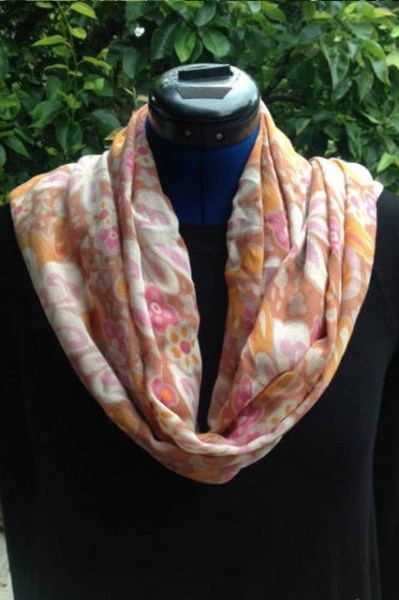 Bamboo fabric scarves for women with fashion prints
