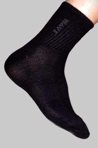 Men's Bamboo Dress Socks - Black
