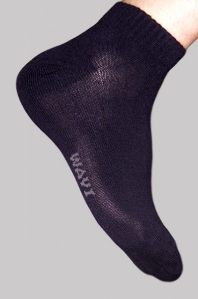 Men's Bamboo Sport Socks - Black